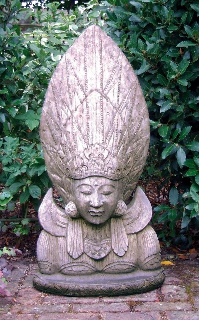 Sun god stone sculpture £