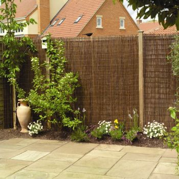 Willow Natural Fencing Screening Rolls 1.8m x 1.8m (6ft x 6ft) - By Papillon™