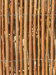Willow fencing screening - rolls 1m