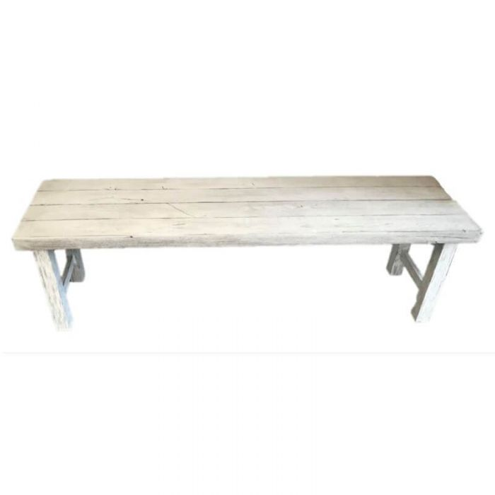 Foremost Natural White Bench