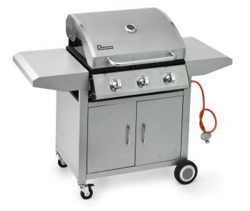 how to clean a stainless steel bbq hood