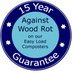 15 Year Guarantee against wood rot