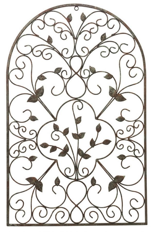 Outdoor Metal Spanish Garden Wall Art (H77.5cm)