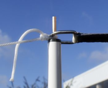 Sail Shade Pole Kit 2.5m - with guy rope