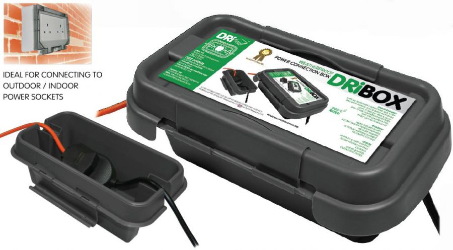 DriBox 200 Weatherproof Outdoor Electrical Connection Box