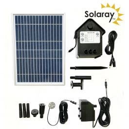 800LPH Solar Water Pump Kit with Lights by Solaray