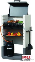 Monte Carlo Gas and Charcoal Barbecue by Banquet™
