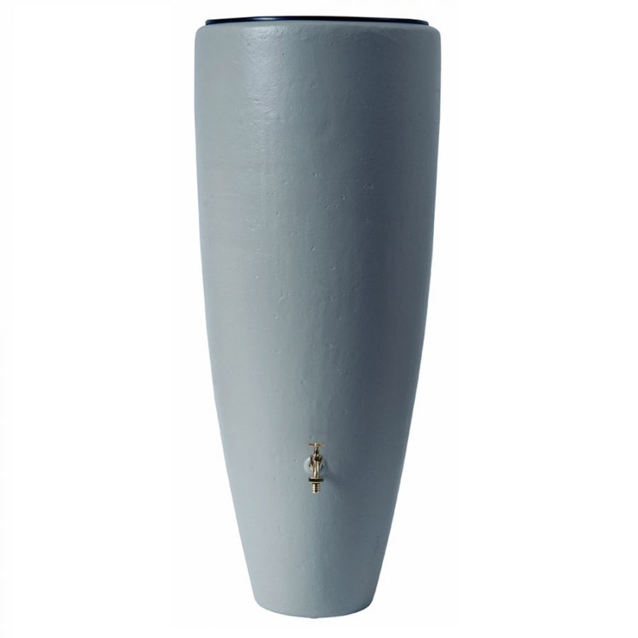 300 Litre 2 in1 Water Collector with Planter in Zinc Grey