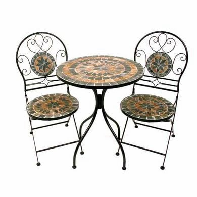 Autumn Star Stone Bistro Garden Set