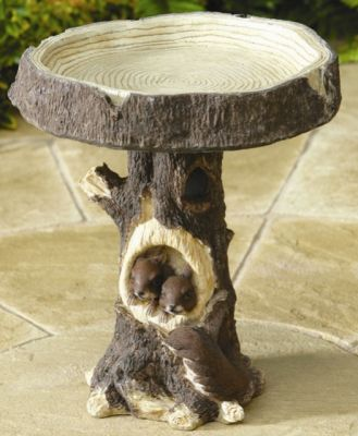 Woodland Squirrel Bird Table