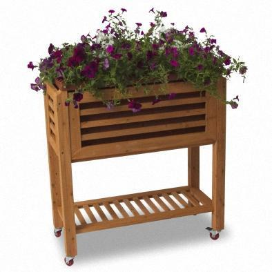 Ergogarden Self Watering Raised Garden Bed - 75cm x 36cm (H91.5cm)