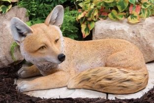 Laying Fox Ornament
