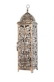 59cm Bronze Effect Large Menara Lantern by La Hacienda