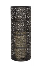 30cm Large Valen LED Candle Lantern by La Hacienda