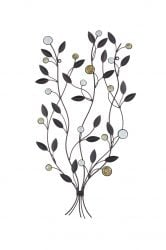 64cm Leaf Bunch Wall Art by La Hacienda