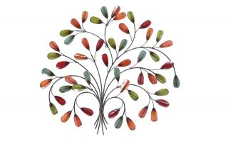 69cm 3D Leaf Posy Wall Art by La Hacienda