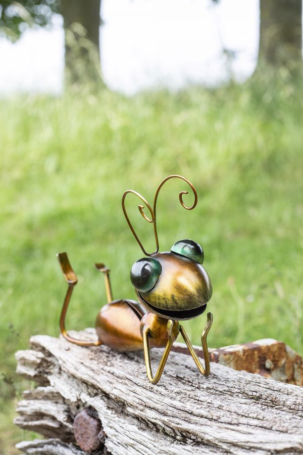 14cm Susie the Ant Garden Ornament by La Hacienda