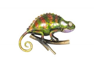 18cm Borneo the Chameleon Garden Ornament by La Hacienda