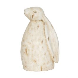 30cm Resin Small Rabbit Garden Ornament by La Hacienda