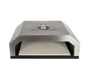 Stainless Steel BBQ Pizza Oven by La Hacienda