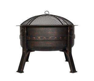 80cm Steel Brava Firepit by La Hacienda