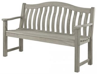 Alexander Rose - Old England Grey Painted Turnberry Bench