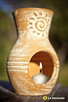 Mini Chim Sunburst Candle Holder