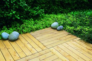 3ft x 3ft Pack of 4 - Patio Deck Tile