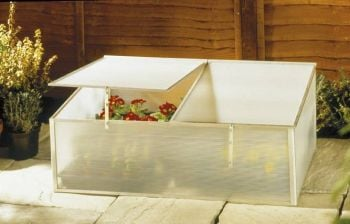 3ft 3in x 2ft 1in Cold Frame with Twin Lid