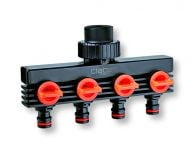 Claber - 4 Outlets Distributor
