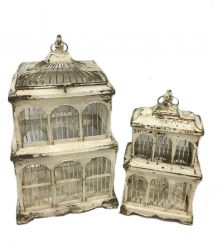 Outdoor Victorian Style Birdcage (Set of 2) - 32cm