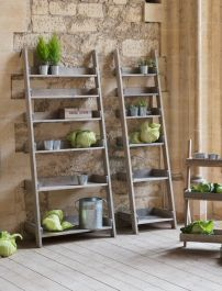 Aldsworth Large Ladder Style Shelving Unit