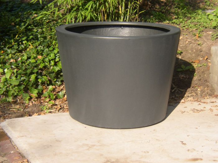 89cm Acer Fibreglass Pot In Black By Adezz