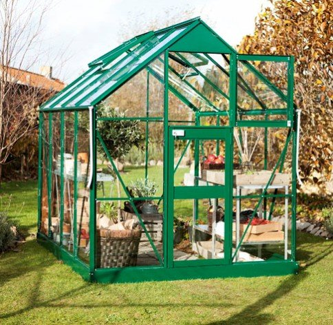 Eden Acorn Aluminium Frame Greenhouse 6ft x 4ft Green