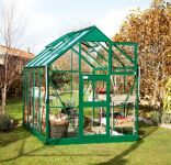 Eden Acorn Aluminium Frame Greenhouse 6ft x 6ft Green