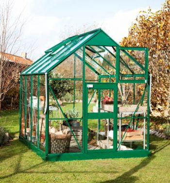 Eden Acorn Greenhouse 6ft x 8ft Green