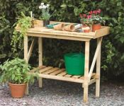3' Wooden Potting Bench