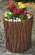 Wood Effect Planters