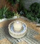 Mushroom In Shell Water Feature With Lights