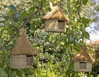 Bird Hut - Set of 3