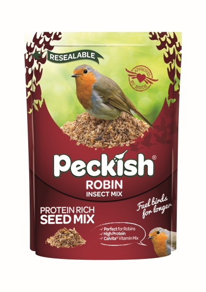 Peckish Robin Seed & Insect Mix for Wild Birds - 1Kg