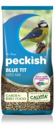 Blue Tit Seed Mix for Wild Birds by Peckish - 1Kg