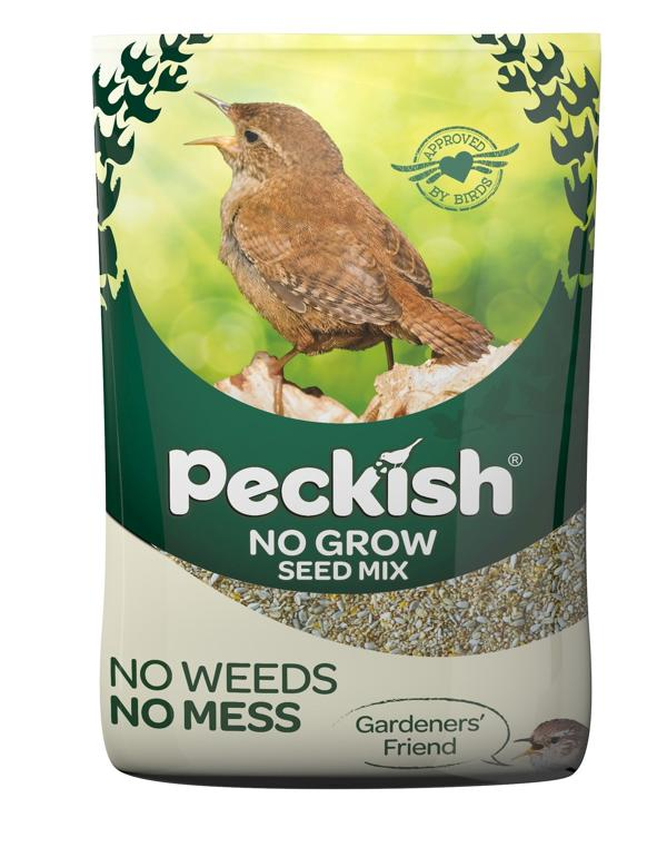 Peckish No Grow Seed Mix for Wild Birds - 12.75kg