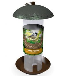 Peckish Secret Garden Seed Feeder for Wild Birds