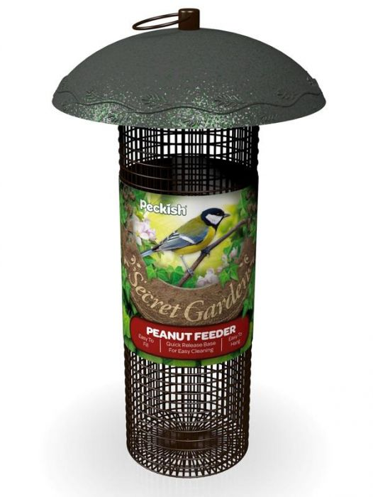 Peckish Secret Garden Peanut Feeder for Wild Birds