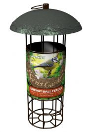 Peckish Secret Garden Energy Ball Feeder for Wild Birds