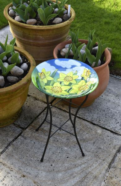 Smart Garden - Yellow Daffodil Birdbath
