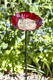 Smart Garden - Rose Bird Feeder Stake