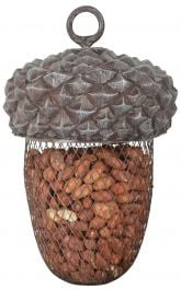 Acorn Peanut Bird Feeder - 22cm (8.7in)