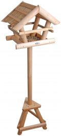 Wooden Bird Table - 111cm (3ft 7in)